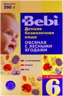 Каша безмолочна Bebi від 6 місяців вівсяна з лісовими ягодами 3838471016520 200 г