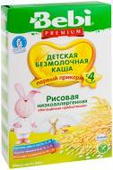 Каша безмолочна Bebi від 4 місяців Premium рисова 3838600076418 200 г