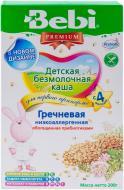 Каша безмолочная Bebi гречневая с пребиотиками 3838471019958 200 г