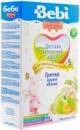 Каша молочна Bebi від 5 місяців гречана з курагою та яблуком 3838471019996 200 г