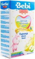 Каша молочна Bebi від 6 місяців пшенична з яблуком та бананом 3838600054560 250 г