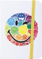 Книга для нотаток 80 аркушів біла Smiley