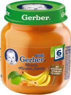 Пюре Gerber Яблоко, абрикос и банан 130 г 7613033514937