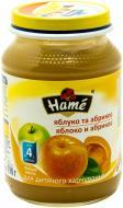 Пюре Hame Яблуко та абрикос 190 г 8595139703745