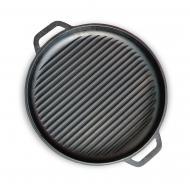 Сковорода-кришка Brizoll ø400 мм 43 мм 4,15 л гриль чавунна