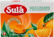 Льодяники Sula з апельсином і ментолом 18 г (4601798006272)