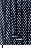 Щоденник 2019 RELAX A6 датований чорний Buromax