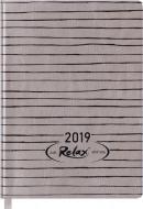 Щоденник 2019 RELAX A6 датований золотий Buromax