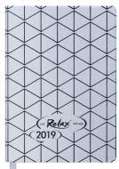Щоденник 2019 RELAX A6 датований срібло Buromax