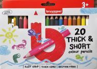 Набір олівців 20 кольорів + чинка для олівців Bruynzeel Bruynzeel