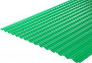 Гофрований монолітний полікарбонат 3000x1050 мм