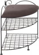 Підставка для взуття Мілан 450x450x540 мм коричневий