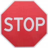 Знак дорожній 2.2 СТОП зі світлоповертаючою плівкою 3001