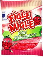 Цукерки жувальні Figle Migle Wild Strawberries 80 г (5904686118064)