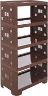 Этажерка Тарлев Ротанг 5-уровневая 1100x520x300 мм коричневый