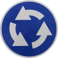 Знак дорожній 4.10 (IІ тип, 2014) Круговий рух