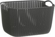 Кошик пластиковий Curver 226165 Knit L прямокутний 230x300x400 мм