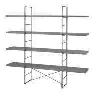 Стеллаж IKEA ENETRI Серый (492.276.05)