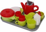 Ігровий набір Ecoiffier Chef Cook з посудом і тацею 972
