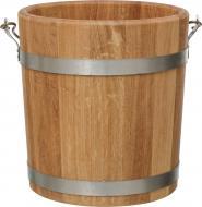 Відро Bon-Dom для сауни Дуб 10 л