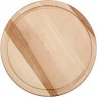 Дошка кухонна кругла 30 см бук