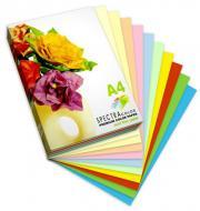 Папір офісний кольоровий Spectra Color A4 80 г/м 10 кольорів по 10 аркушів Rainbow різнокольоровий