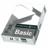 Папір офісний International Paper A4 80 г/м IP Basic 500 аркушів білий