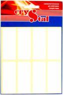 Етикетки UPM-Kymmene Crystal для побутового використання 56 шт. 21x50 мм