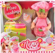 Лялька Bambolina Нена-маленький кухар з аксесуарами 36 см BD387-50SUA