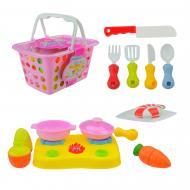 Ігровий набір посуду в кошику (16 предметів) 666-41