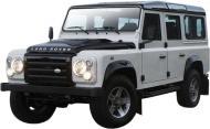 Автомодель Bburago 1:32 LAND ROVER DEFENDER 110 білий синій 18-43029