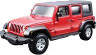 Автоконструктор Bburago 1:32 Jeep Wrangler Unlimited Rubicon червоний 18-45121