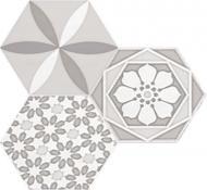 Плитка Cifre Водевіль уайт декор 17,5x17,5