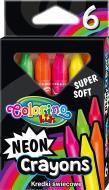 Олівці воскові Neon 6 шт. 92050PTR Colorino