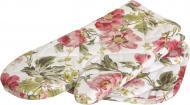 Набір кухонний Квіти рукавичка та прихватка рожевий