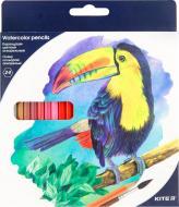 Олівці кольорові акварельні 24 шт. K18-1050 KITE