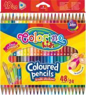 Олівці кольорові двосторонні 24 шт. 51705PTR Colorino