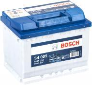 Акумулятор автомобільний Bosch S4 005 60А 12 B 66575 «+» праворуч