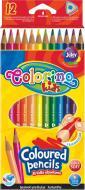 Олівці кольорові 12 шт. 51798PTR Colorino