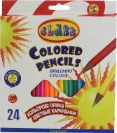 Олівці кольорові Premium 24 шт. 1624 CLASS