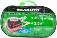 Старт-кабель БЕЛАВТО 300 A 2.3 м