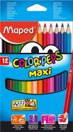 Олівці кольорові Color'peps Maxi 12 шт. MP834010 Maped