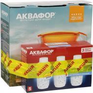 Фільтр-глечик Аквафор Лаки + 3 змінних картриджа В 100-5