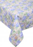 Скатертина Гортензія 110x140 см блакитний із зеленим La Nuit
