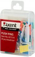 Кнопки-цвяшки Axent прапорці 30 шт. 4215-A