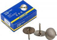 Кнопки канцелярские Buromax никель 50 шт. BM.5105