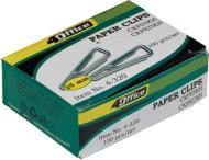 Скріпки трикутні 25 мм 100 шт. 4-320 4Office