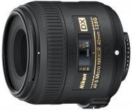 Об'єктив Nikon  40mm f/2.8G ED AF-S DX Micro NIKKOR