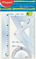 Набір лінійок Cristal 4 шт. MP242820 Maped