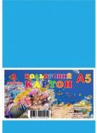 Картон кольоровий А5 9 аркушів КА5309Е GRAFIKA
